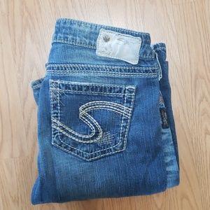 Silver Jean's Co. Jeans waist 28 Length 33